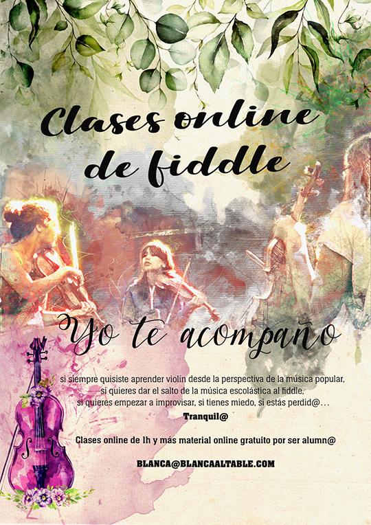 clases online de fiddle castellano